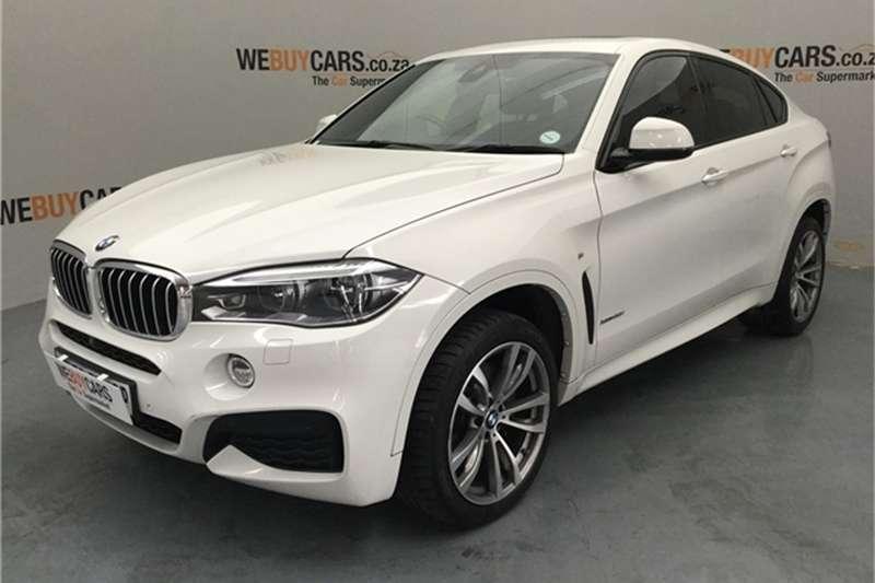 2015 BMW X series SUV X6 xDrive50i M Sport