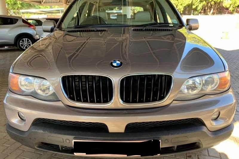 2004 BMW X series SUV X5 3.0d steptronic