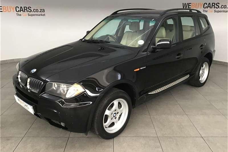 2006 BMW X series SUV X3 2.0d
