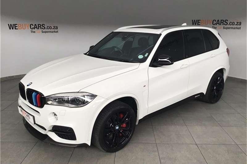 2017 BMW X series SUV X5 M50d