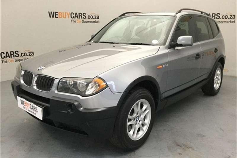 2005 BMW X series SUV X3 2.0d