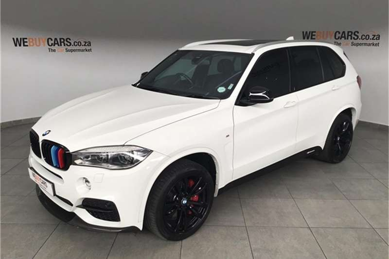2017 BMW X series SUV X5 M50d
