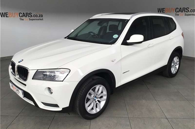 2013 BMW X series SUV X3 xDrive20d