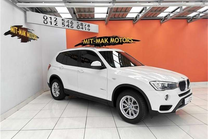 2016 BMW X series SUV X3 xDrive20d