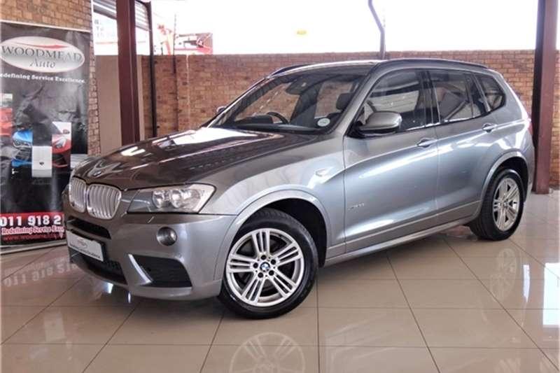 2012 BMW X series SUV X3 xDrive35i M Sport