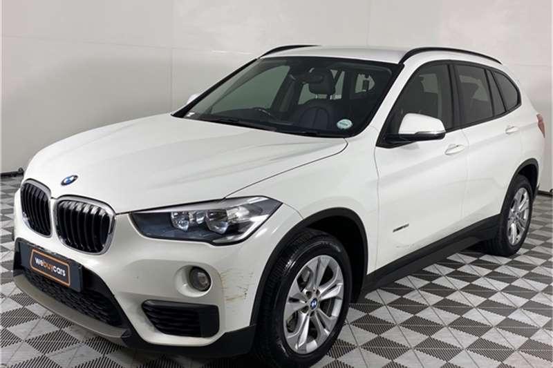 2017 BMW X series SUV X1 sDrive18i auto