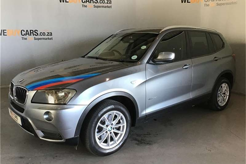 BMW X Series SUV X3 xDrive20d 2011