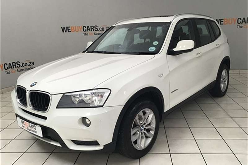 BMW X Series SUV X3 xDrive20d 2013