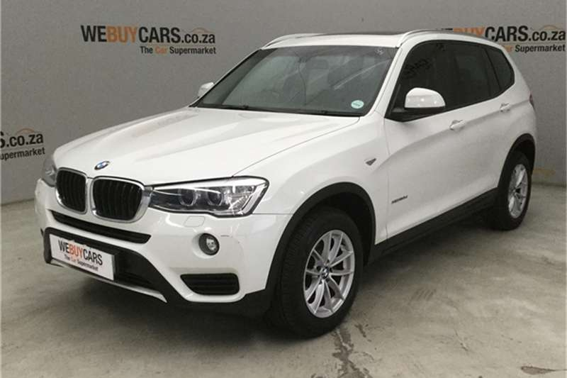 BMW X Series SUV X3 xDrive20d Exclusive 2014