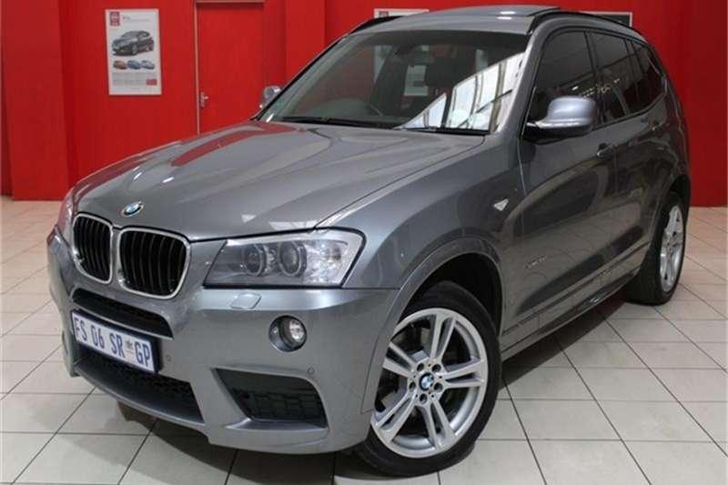 BMW X Series SUV X3 xDrive20d M Sport 2014