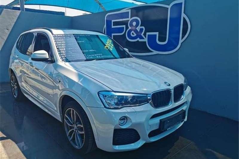 BMW X series SUV X3 xDrive20d M Sport 2015