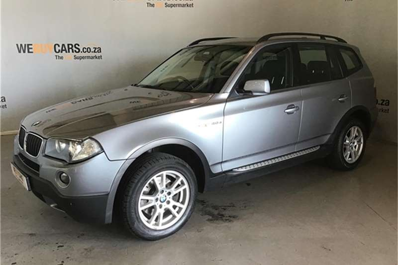 BMW X Series SUV X3 xDrive20d steptronic 2009
