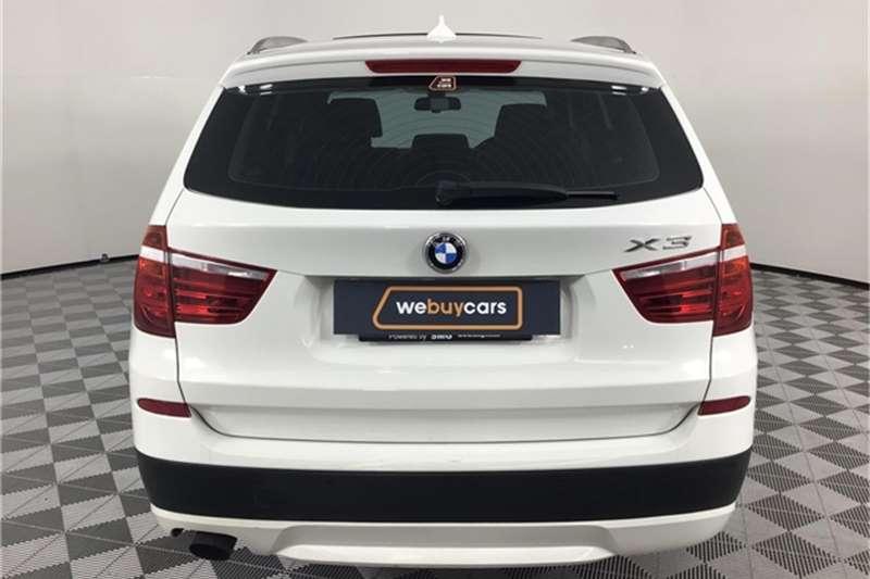 BMW X Series SUV X3 xDrive20i auto 2012