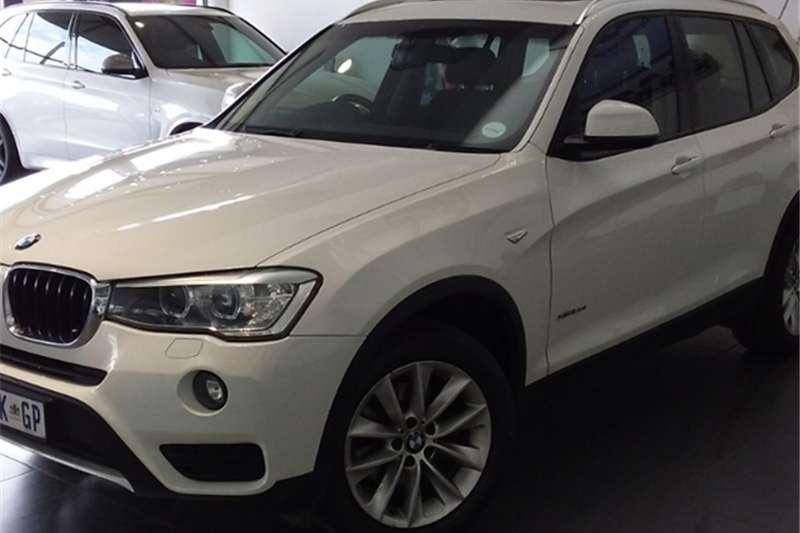 BMW X Series SUV X3 xDrive20i auto 2015