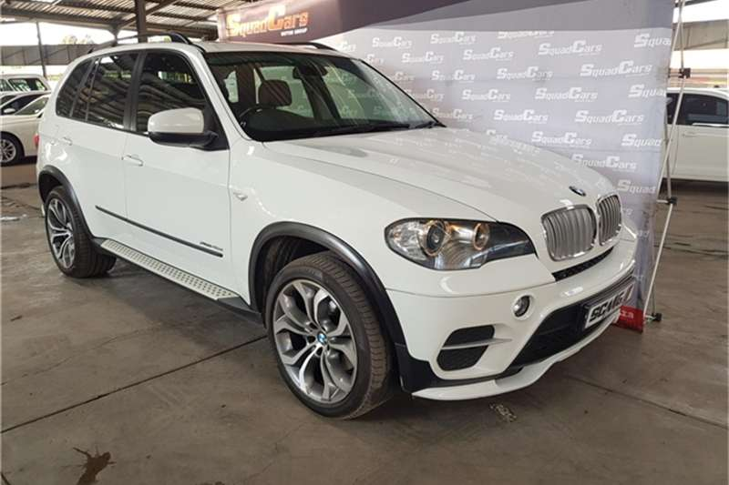 BMW X Series SUV X5 xDrive40d Exclusive 2012