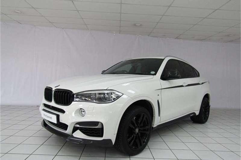 BMW X Series SUV X6 M50d 2016