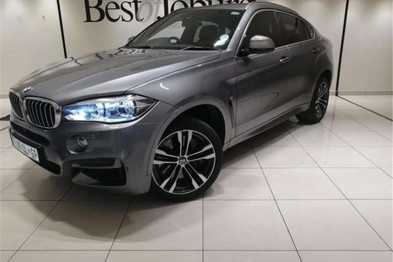 BMW X Series SUV X6 M50d 2017