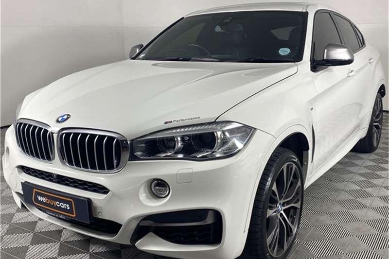2017 BMW X series SUV X6 M50d