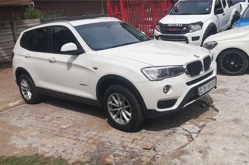 2016 BMW X3 xDRIVE 20d LUXURY LINE (G01)