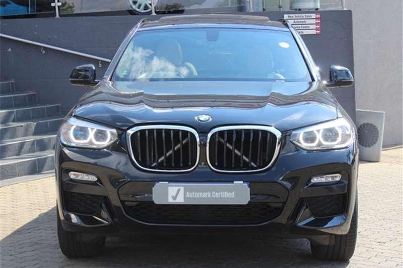 Used 2018 BMW X3 xDRIVE 20d M SPORT (G01)