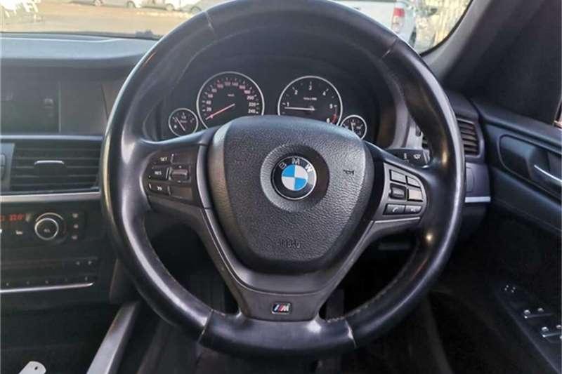 BMW X3 xDRIVE20d A/T 2012