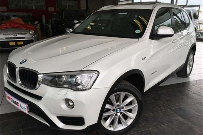BMW X3 xDrive20d Exclusive 2015