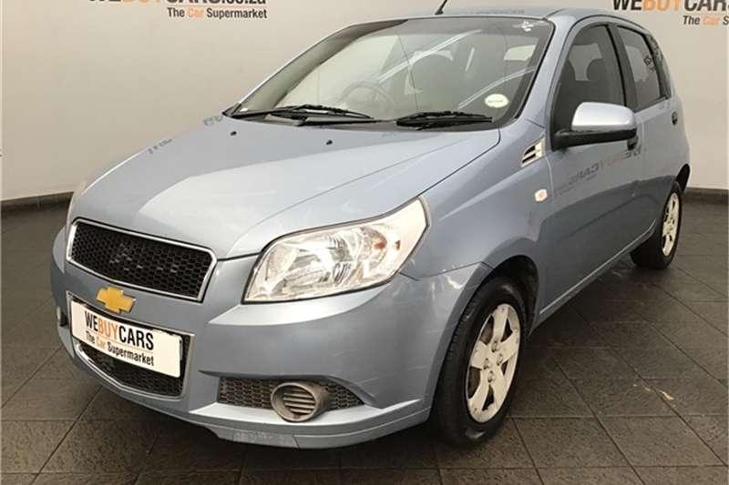 Chevrolet Aveo 1.6 L hatch 2012