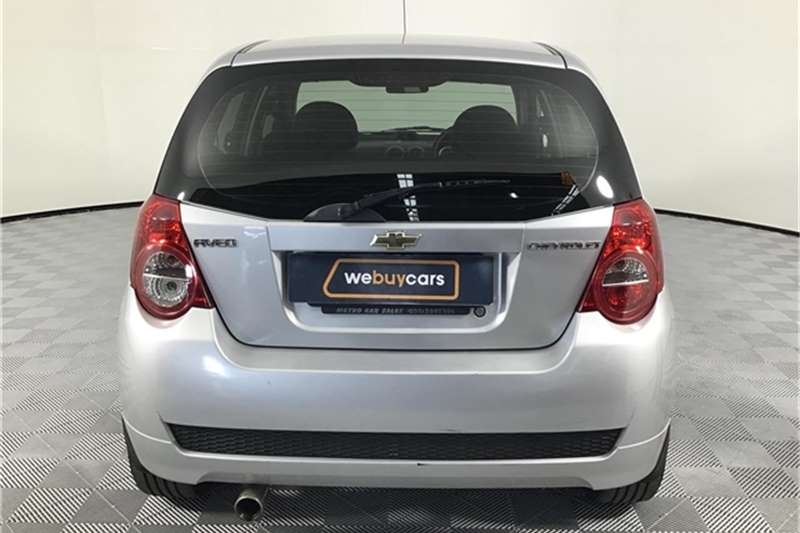 Chevrolet Aveo 1.6 L hatch 2012