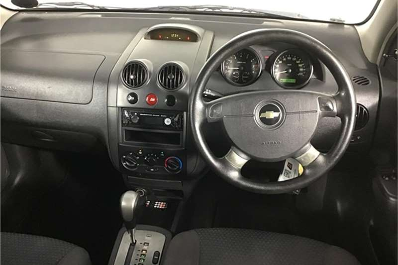 Chevrolet Aveo 1.6 LS hatch automatic 2008