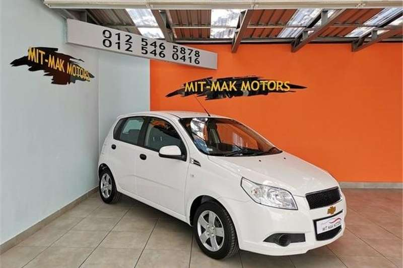 Chevrolet Aveo 1.6 LS hatch automatic 2010