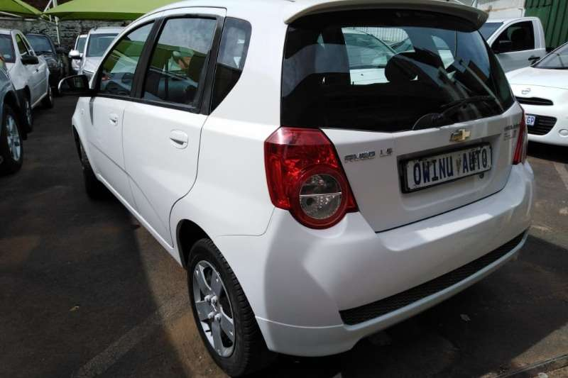 Chevrolet Aveo 1.6 LS hatch automatic 2012