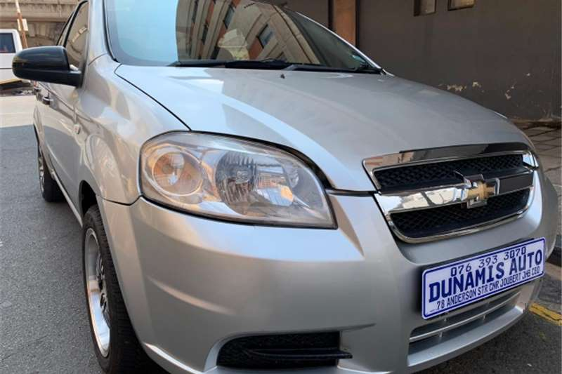 Chevrolet Aveo 1.6 LS sedan automatic 2008
