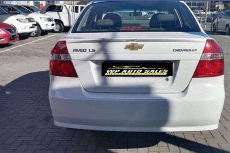 Chevrolet Aveo 1.6 LS sedan automatic 2014