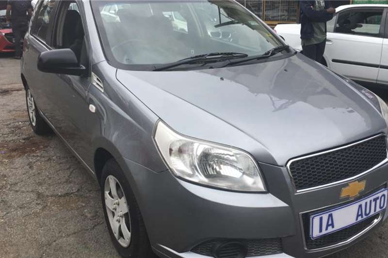 Chevrolet Aveo hatch 1.6 L 2012