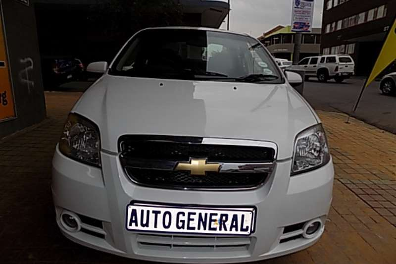 Chevrolet Aveo hatch 1.6 LS auto 2015