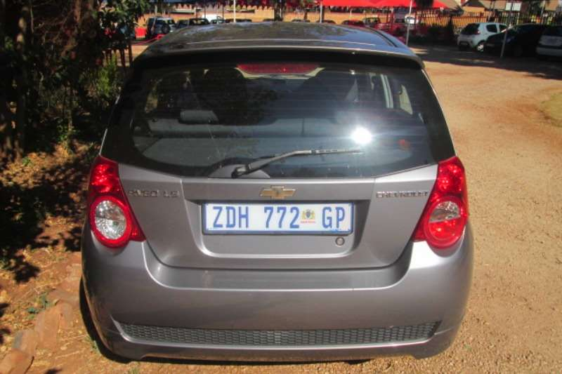 2010 Chevrolet Aveo 1.6 LS hatch