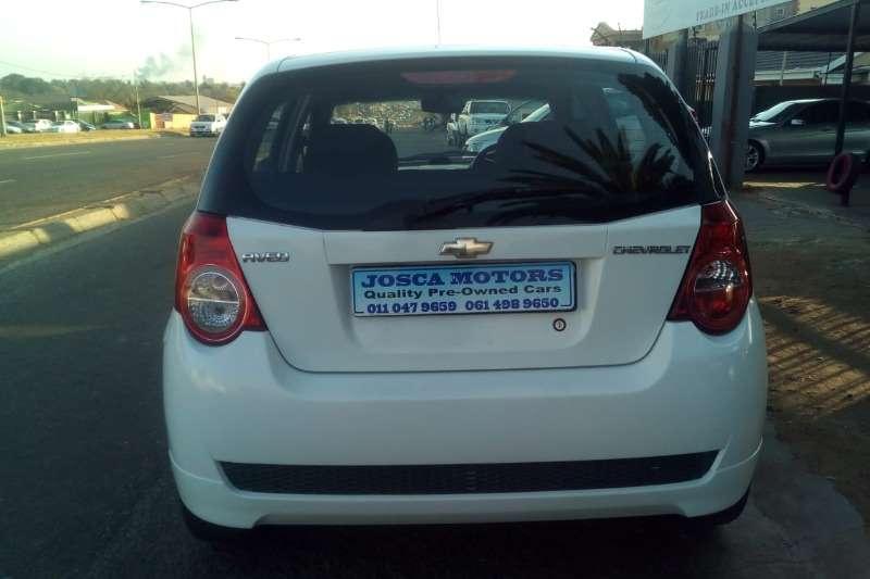 2012 Chevrolet Aveo 1.6 L hatch