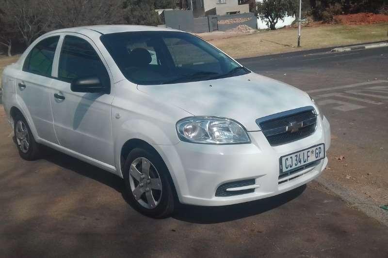 Chevrolet Aveo sedan 1.6 L 2013