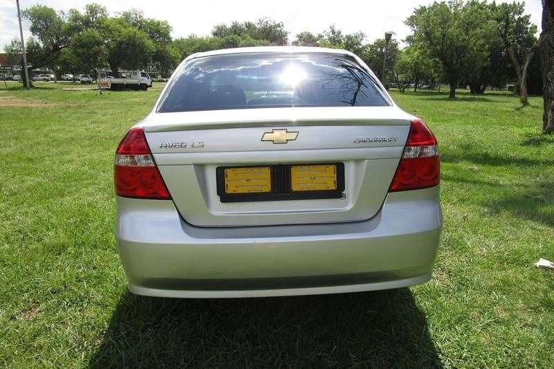 Chevrolet Aveo sedan 1.6 LS auto 2015