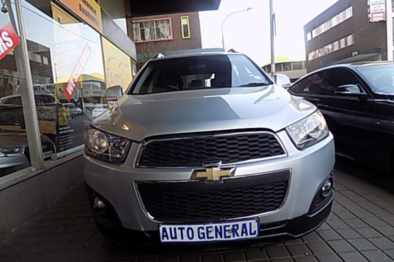 Chevrolet Captiva 2.0D LTZ auto 2013