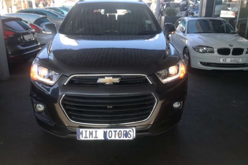 Chevrolet Captiva 2.2 automatic 2017