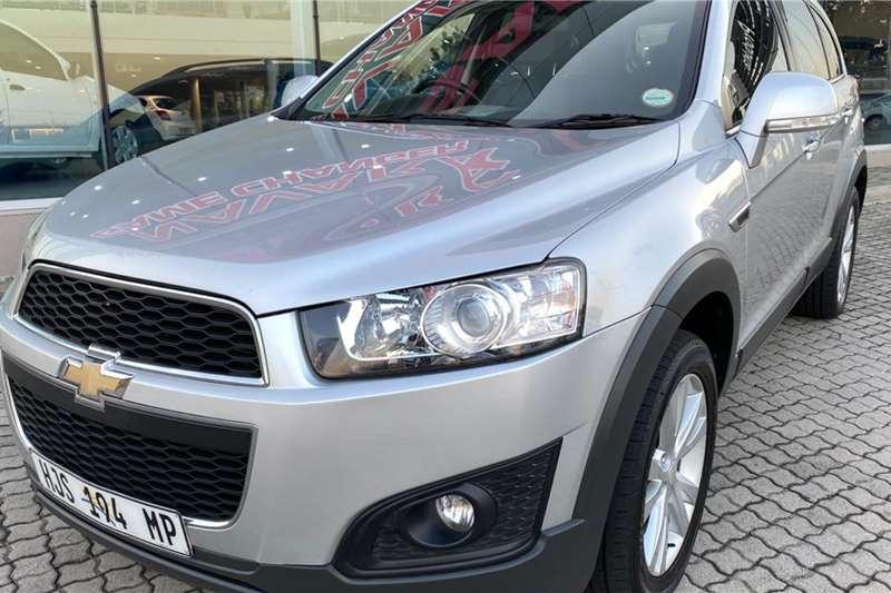 Chevrolet Captiva 2.2D LT Auto 2014
