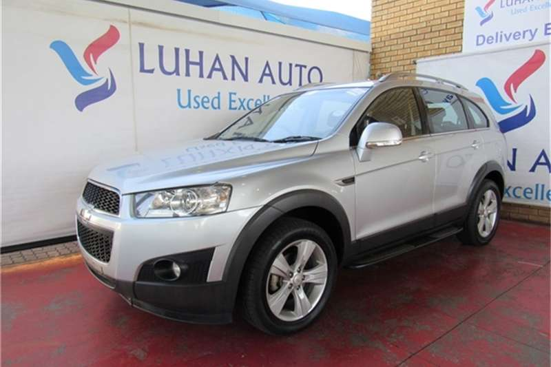 Chevrolet Captiva 2.4 AWD LT 2013