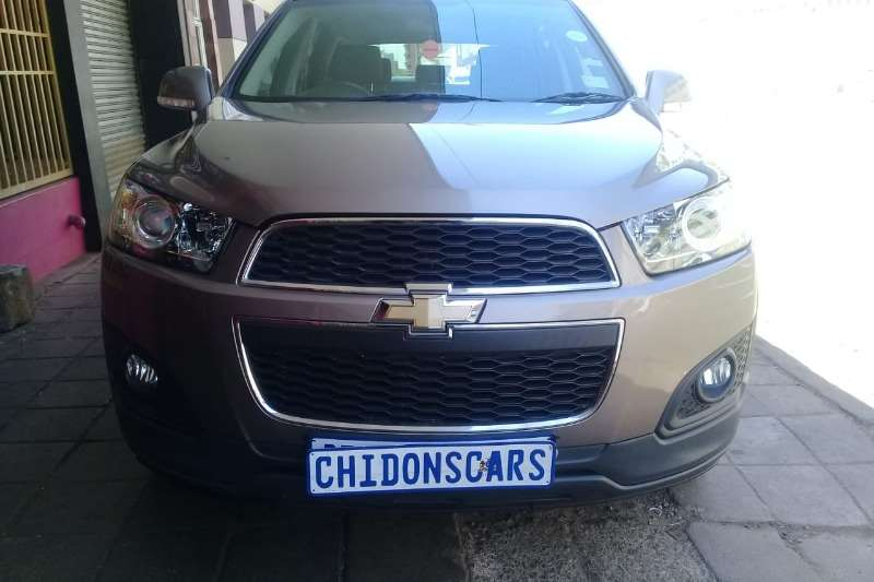 Chevrolet Captiva 2.4 AWD LT 2015