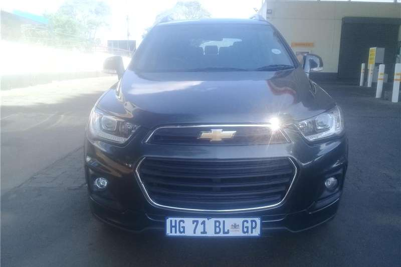 Chevrolet Captiva 2.4 LS 2017