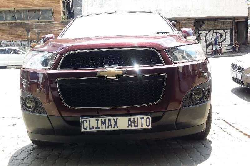 Chevrolet Captiva 2.4 LT auto 2012