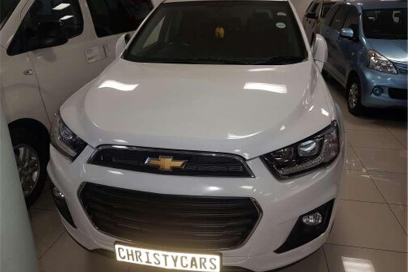 Chevrolet Captiva 2.4 LT auto 2016