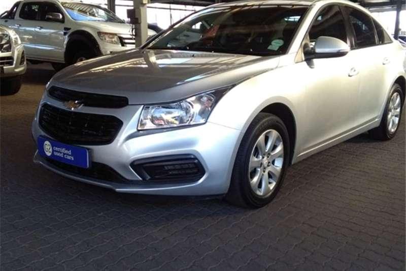 Chevrolet Cruze sedan 1.6 L 2015