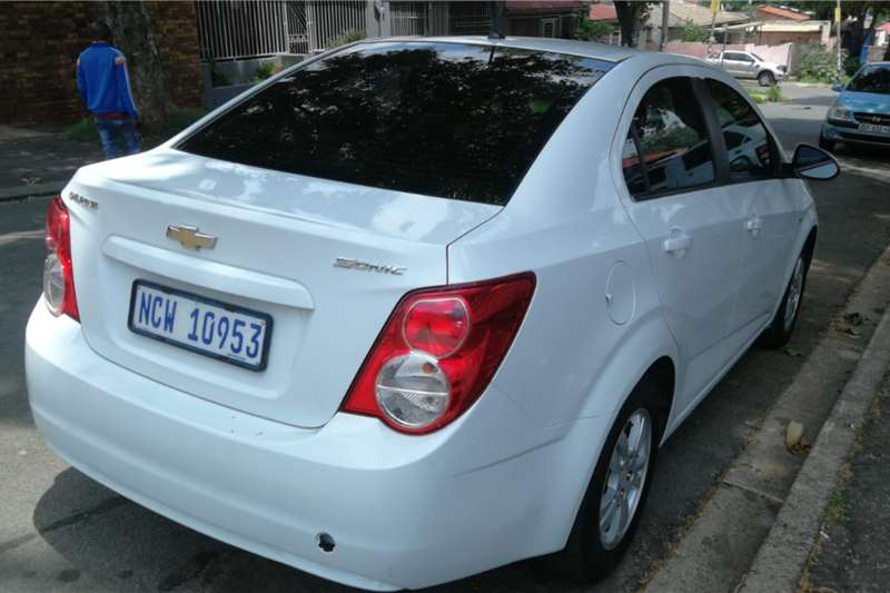 Chevrolet Sonic 1.8 2012