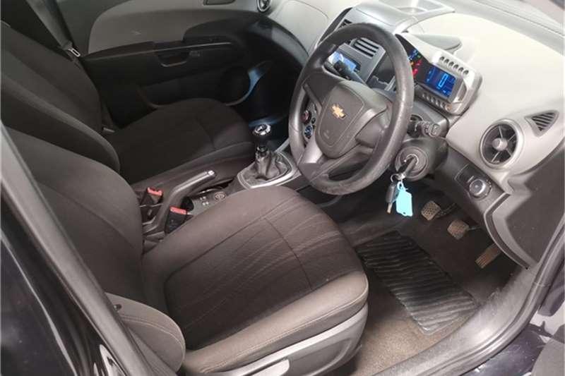 Used 2012 Chevrolet Sonic hatch 1.4 LS